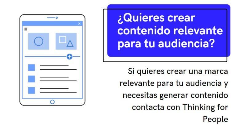 Agencia de contenidos para anunciantes y marketing de contenidos