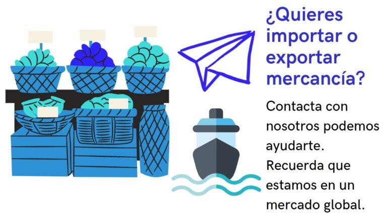 Agencia para exportar e importar mercancia. Agencia de exportación para exportadores. Agencia de importación para importadores.
