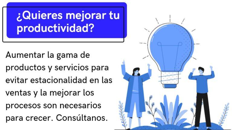 Consultora de negocio online para mejorar la productividad de su negocio. Digitalización de la empresa.