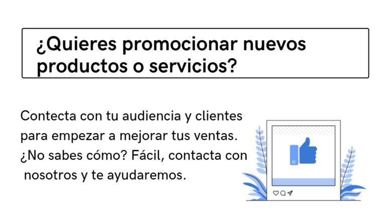 Marketing digital promocionar productos y servicios