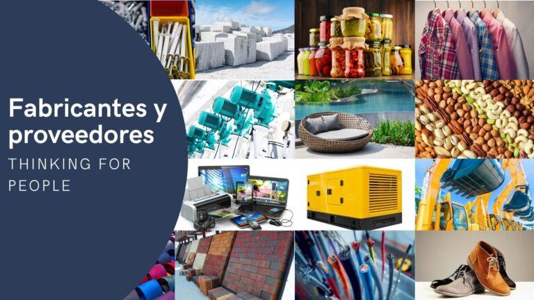 Fabricantes y proveedores de todo el mundo