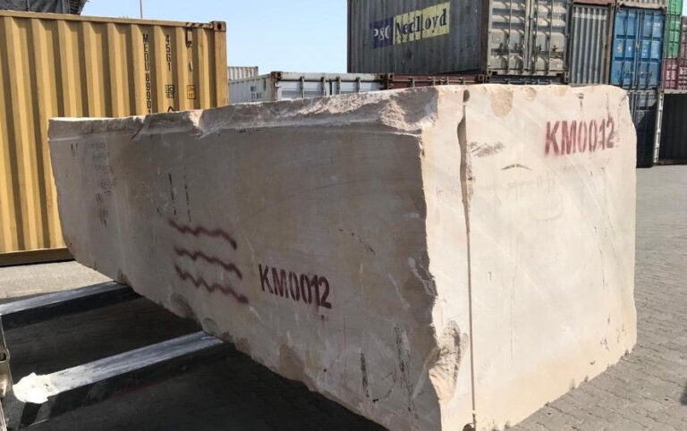 Importación y exportación de piedra natural