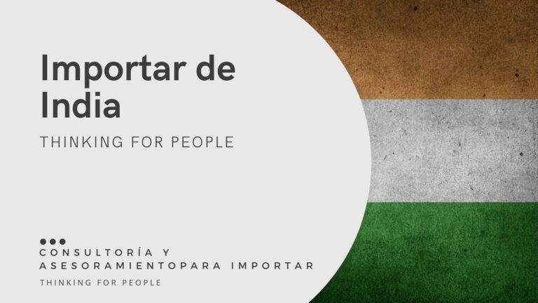 Como importar de India - Guía de importación de India