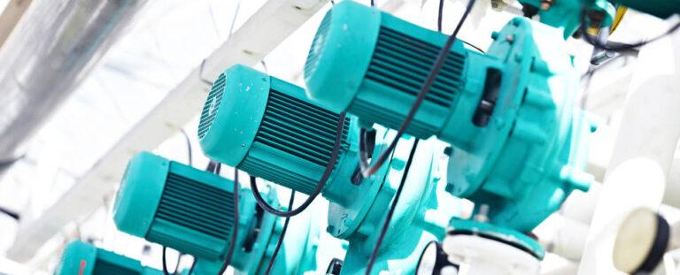 Import hydraulic pumps