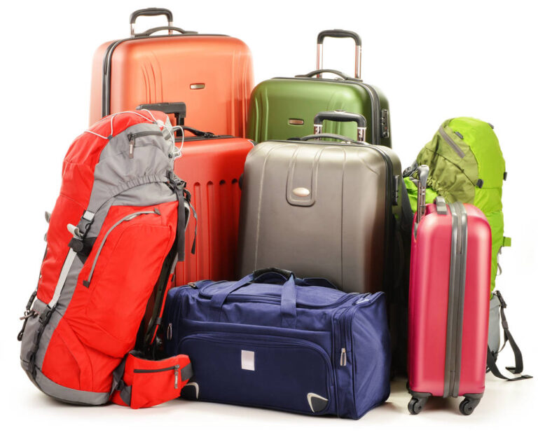 Import bags and suitcases from China and India