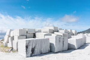 import granite, marble and sandstone