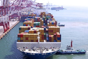management of shipment of goods from china