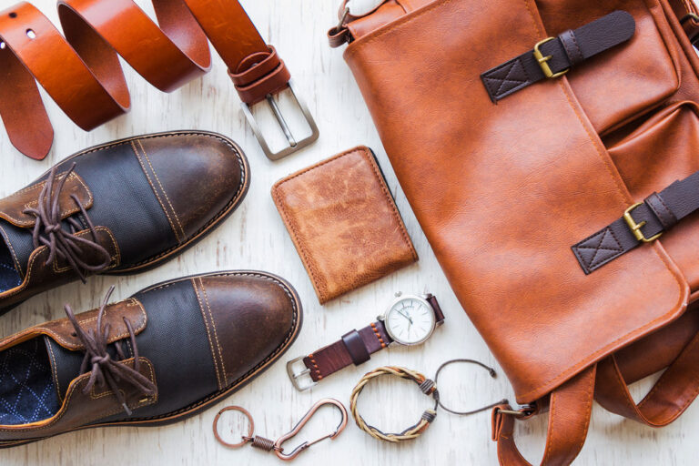 men's accessories and complements