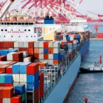 Supply chain from China to the United States of America